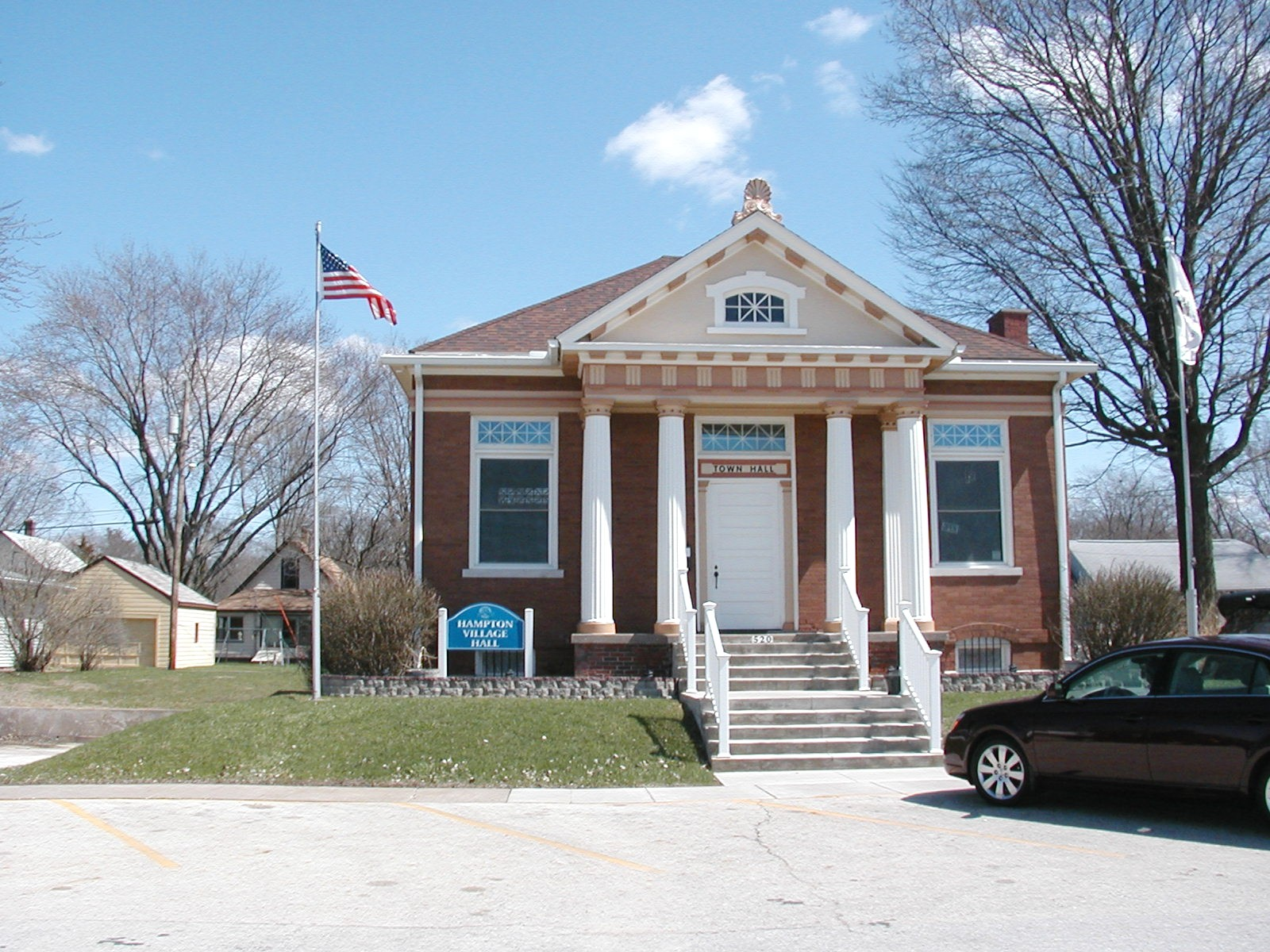 City Hall of the Village of Hampton